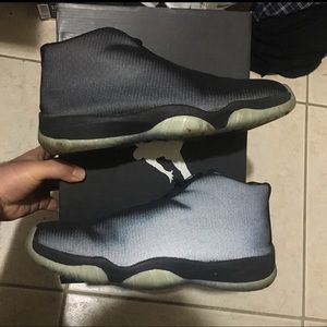 Air Jordan Future 3M Size 10.5 Black Reflective